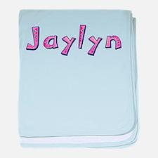 Jaylyn Pink Giraffe baby blanket