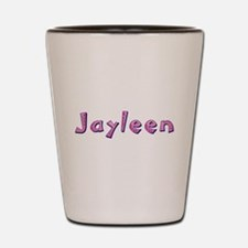 Jayleen Pink Giraffe Shot Glass