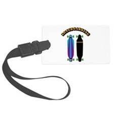 Longboard - Longboarding Luggage Tag