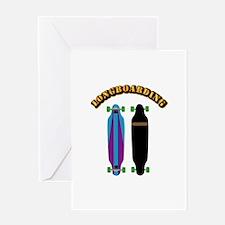 Longboard - Longboarding Greeting Card