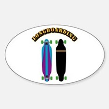 Longboard - Longboarding Decal