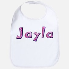 Jayla Pink Giraffe Bib
