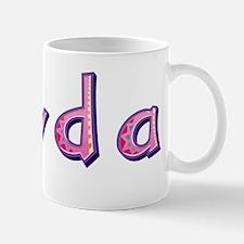 Jayda Pink Giraffe Mugs