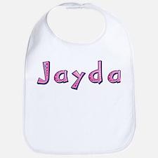 Jayda Pink Giraffe Bib