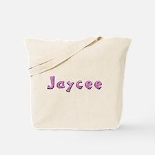 Jaycee Pink Giraffe Tote Bag