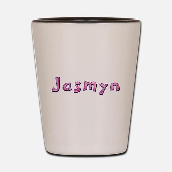 Jasmyn Pink Giraffe Shot Glass