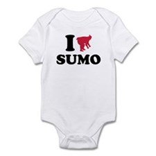 I love Sumo wrestling sports Infant Bodysuit