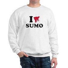I love Sumo wrestling sports Sweatshirt