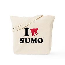 I love Sumo wrestling sports Tote Bag