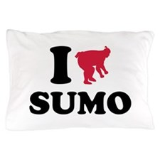 I love Sumo wrestling sports Pillow Case
