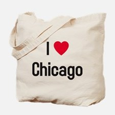 I Heart (Love) Chicago Tote Bag
