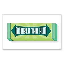 Double the Fun Decal