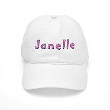 Janelle Pink Giraffe Baseball Baseball Cap