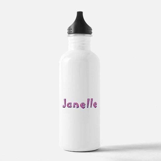 Janelle Pink Giraffe Water Bottle