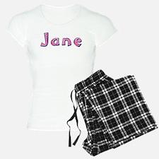 Jane Pink Giraffe Pajamas