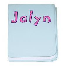 Jalyn Pink Giraffe baby blanket