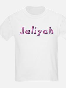 Jaliyah Pink Giraffe T-Shirt
