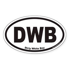 DWB Euro Oval Decal