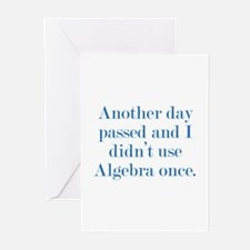 Another Day Passed Greeting Cards (Pk of 10)