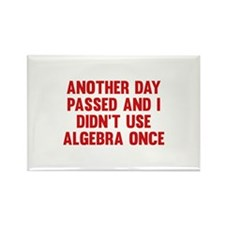 Another Day Passed Rectangle Magnet (100 pack)