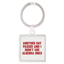 Another Day Passed Square Keychain