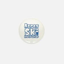 Apres Ski Instructor Mini Button (10 pack)
