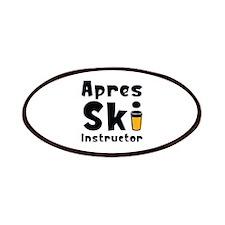 Apres Ski Instructor Patches