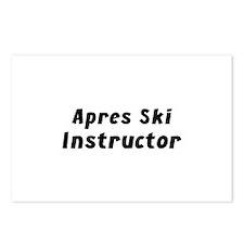 Apres Ski Instructor Postcards (Package of 8)