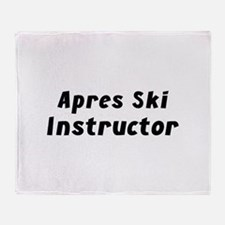 Apres Ski Instructor Stadium Blanket