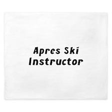 Apres Ski Instructor King Duvet