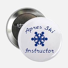 "Apres Ski Instructor 2.25"" Button (10 pack)"