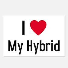 Cute Love my hybrid Postcards (Package of 8)