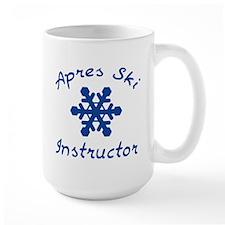 Apres Ski Instructor Ceramic Mugs