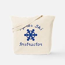 Apres Ski Instructor Tote Bag