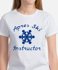 Apres Ski Instructor Women's T-Shirt