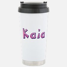 Kaia Pink Giraffe Travel Mug