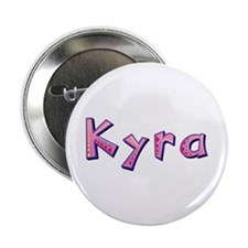 Kyra Pink Giraffe Button 10 Pack