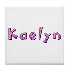 Kaelyn Pink Giraffe Tile Coaster