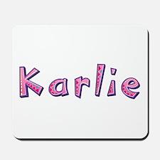 Karlie Pink Giraffe Mousepad