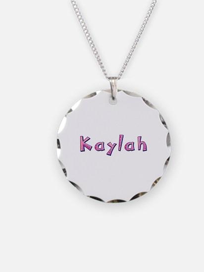 Kaylah Pink Giraffe Necklace