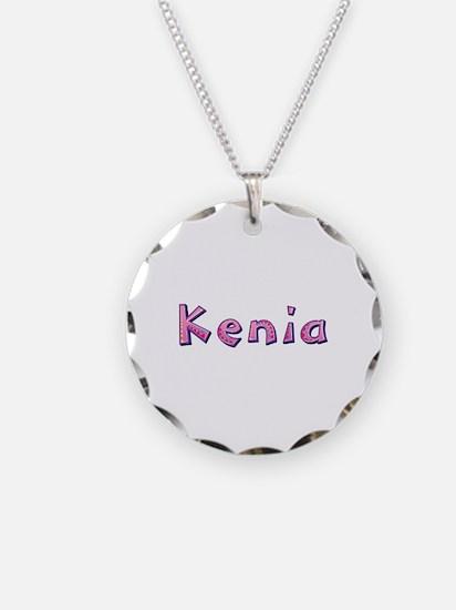 Kenia Pink Giraffe Necklace