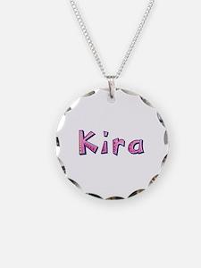 Kira Pink Giraffe Necklace