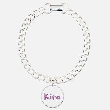 Kira Pink Giraffe Bracelet