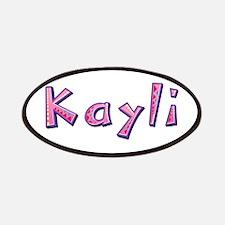 Kayli Pink Giraffe Patch