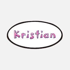 Kristian Pink Giraffe Patch