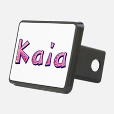 Kaia Pink Giraffe Hitch Cover