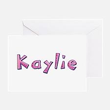 Kaylie Pink Giraffe Greeting Card