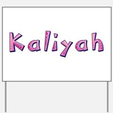 Kaliyah Pink Giraffe Yard Sign