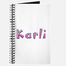 Karli Pink Giraffe Journal