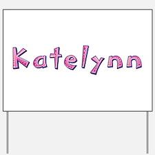 Katelynn Pink Giraffe Yard Sign